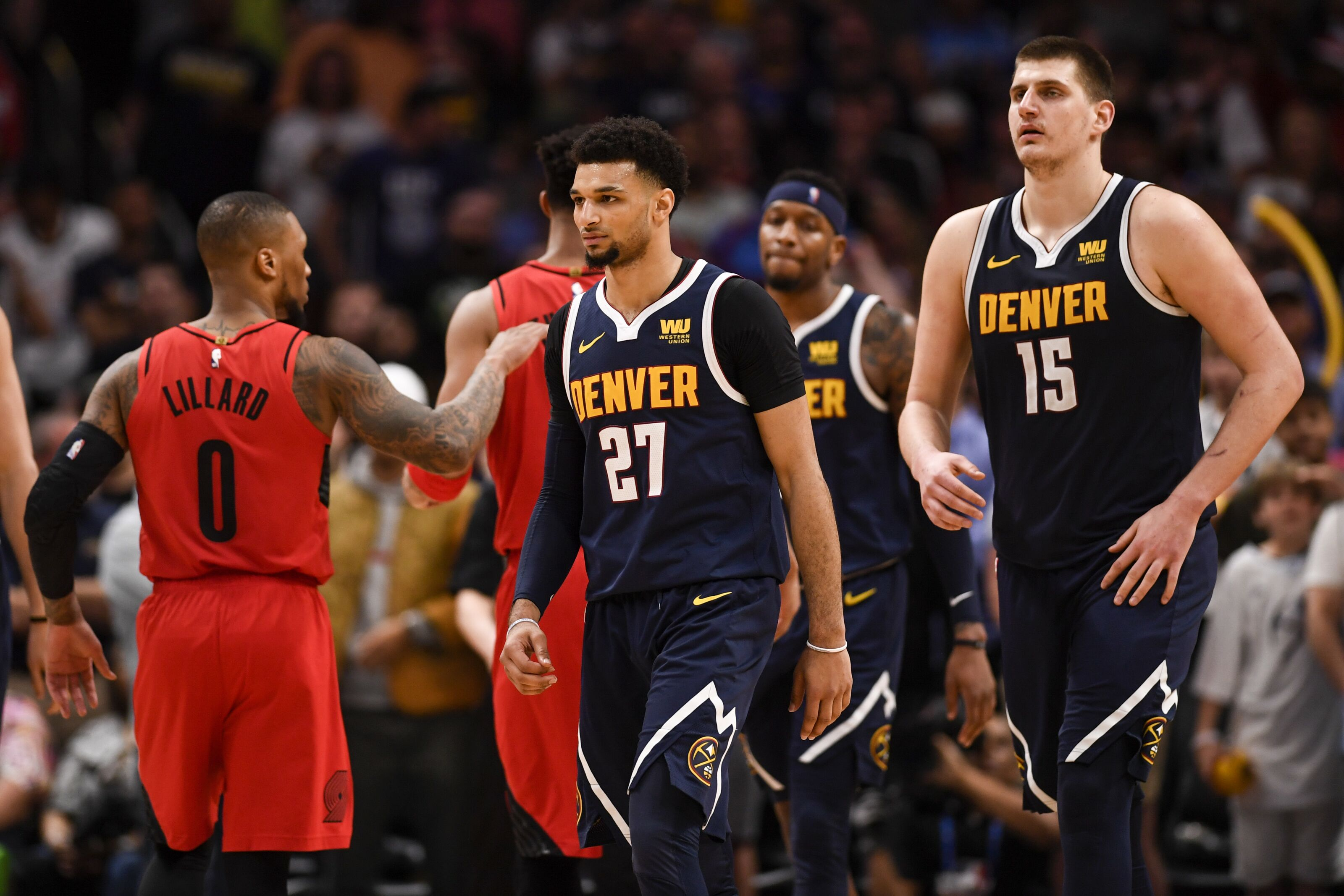 sports shoes 7aea2 6b781 Denver Nuggets: Projected starting lineup roles in 2019-20