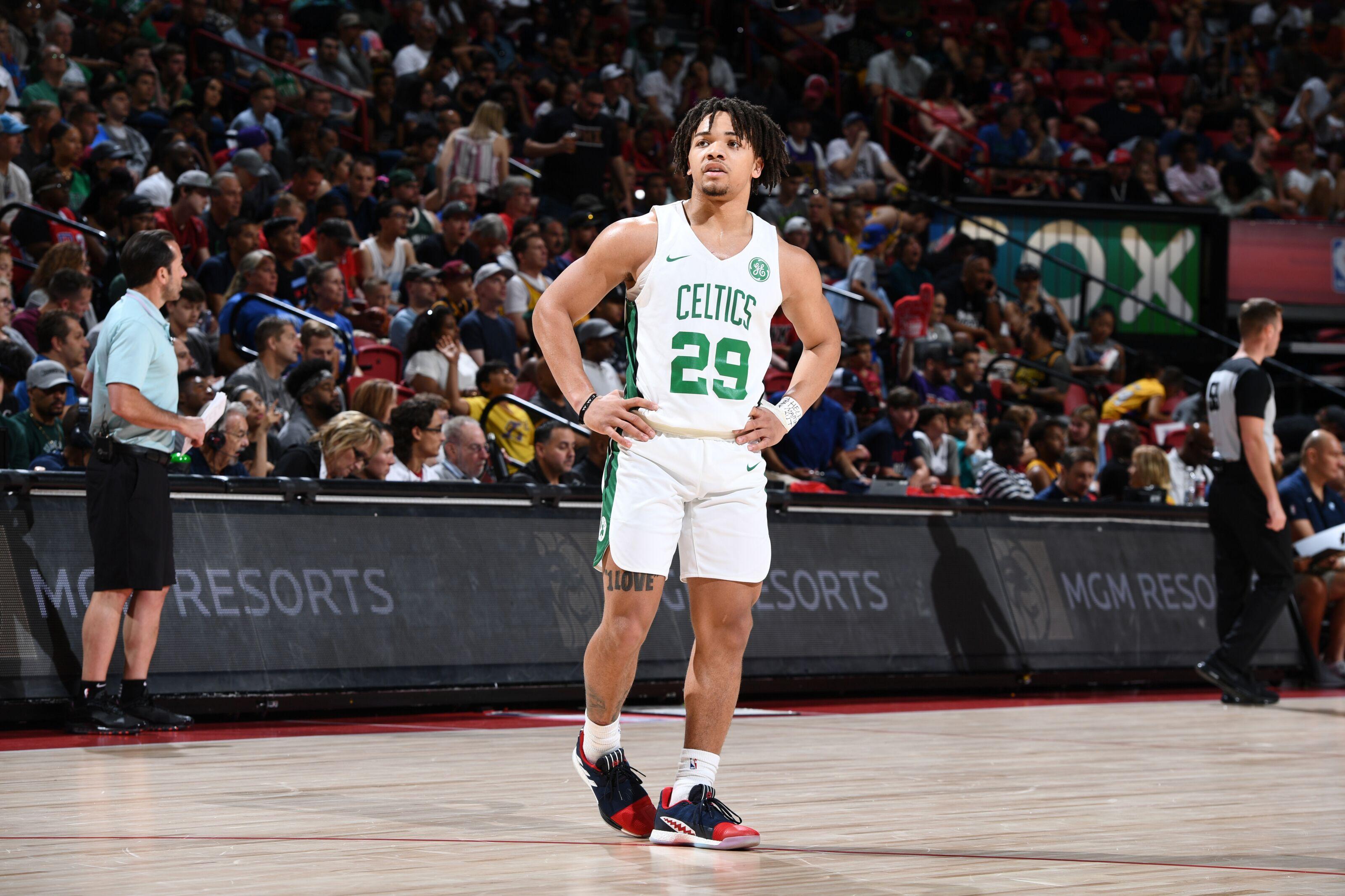 Boston Celtics Diving Deeper Into Carsen Edwards