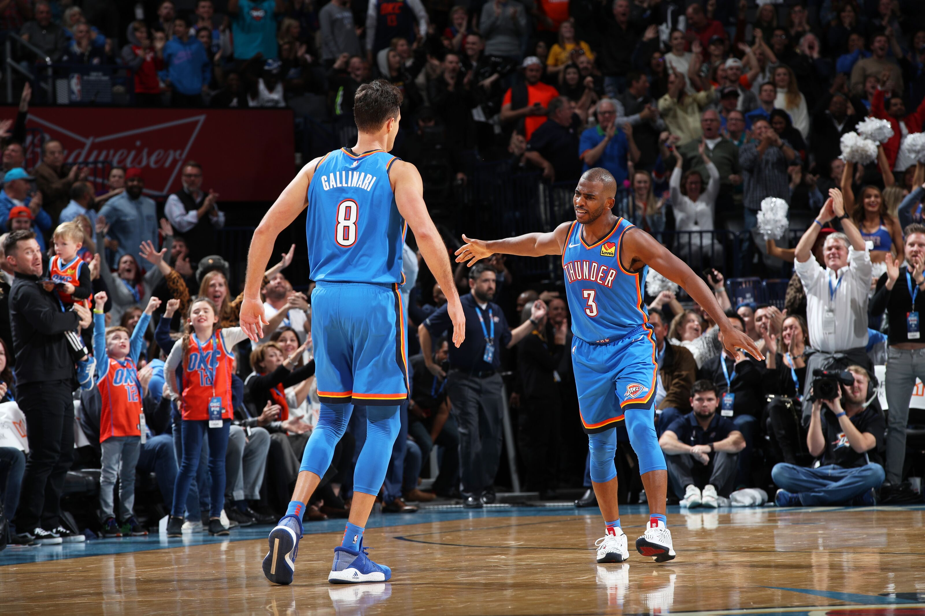 Oklahoma City Thunder deliver another classic against Philadelphia 76ers