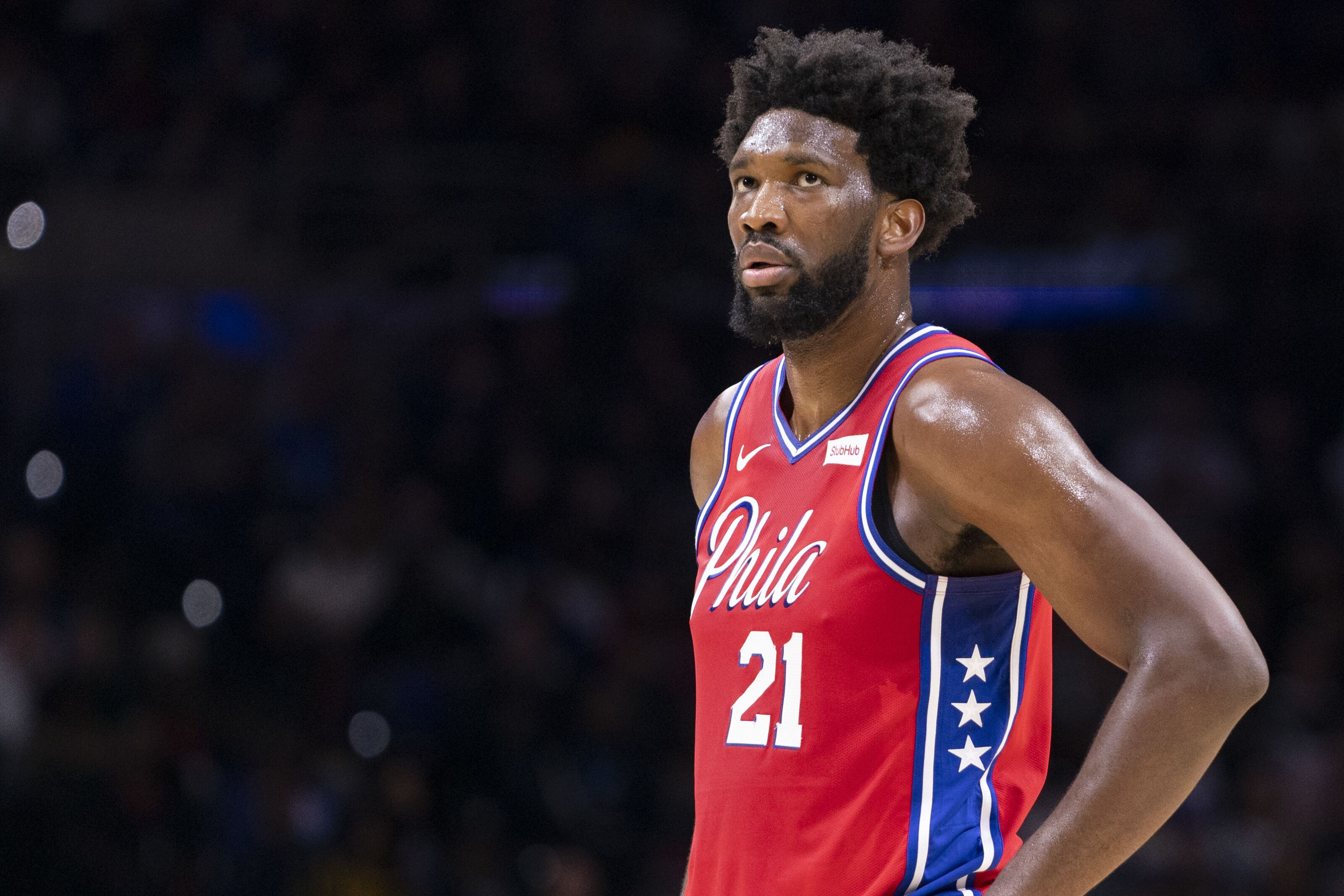 Notable difference in Philadelphia 76ers' use of Joel Embiid