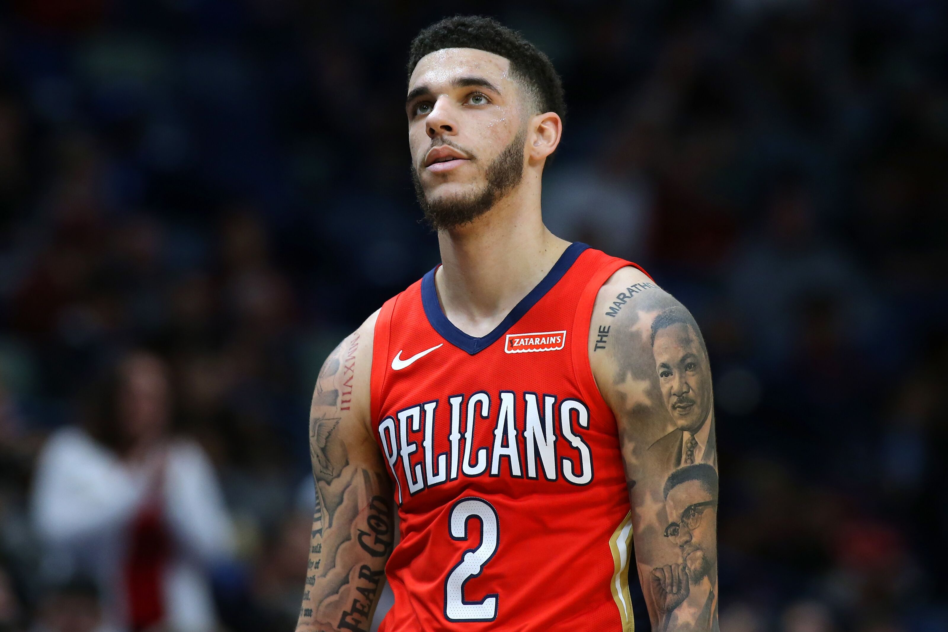 New surroundings with New Orleans Pelicans doing little for Lonzo Ball