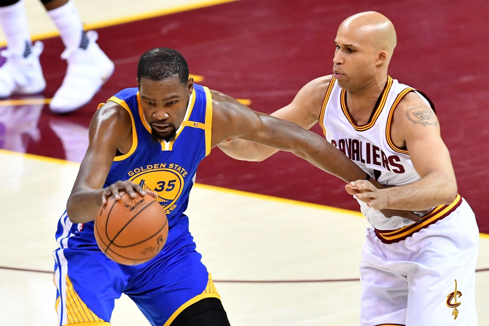 53b3eec5fcc Cleveland Cavaliers  Richard Jefferson calls out the Golden State Warriors