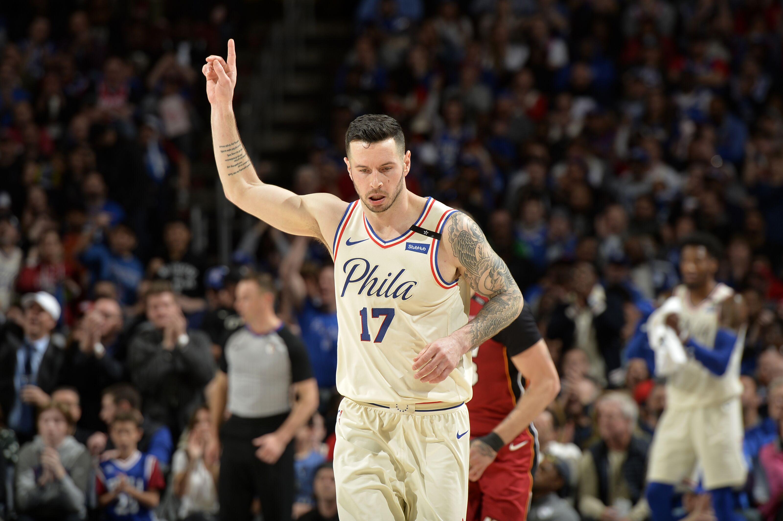 Philadelphia 76ers: J.J. Redick is keeping things together