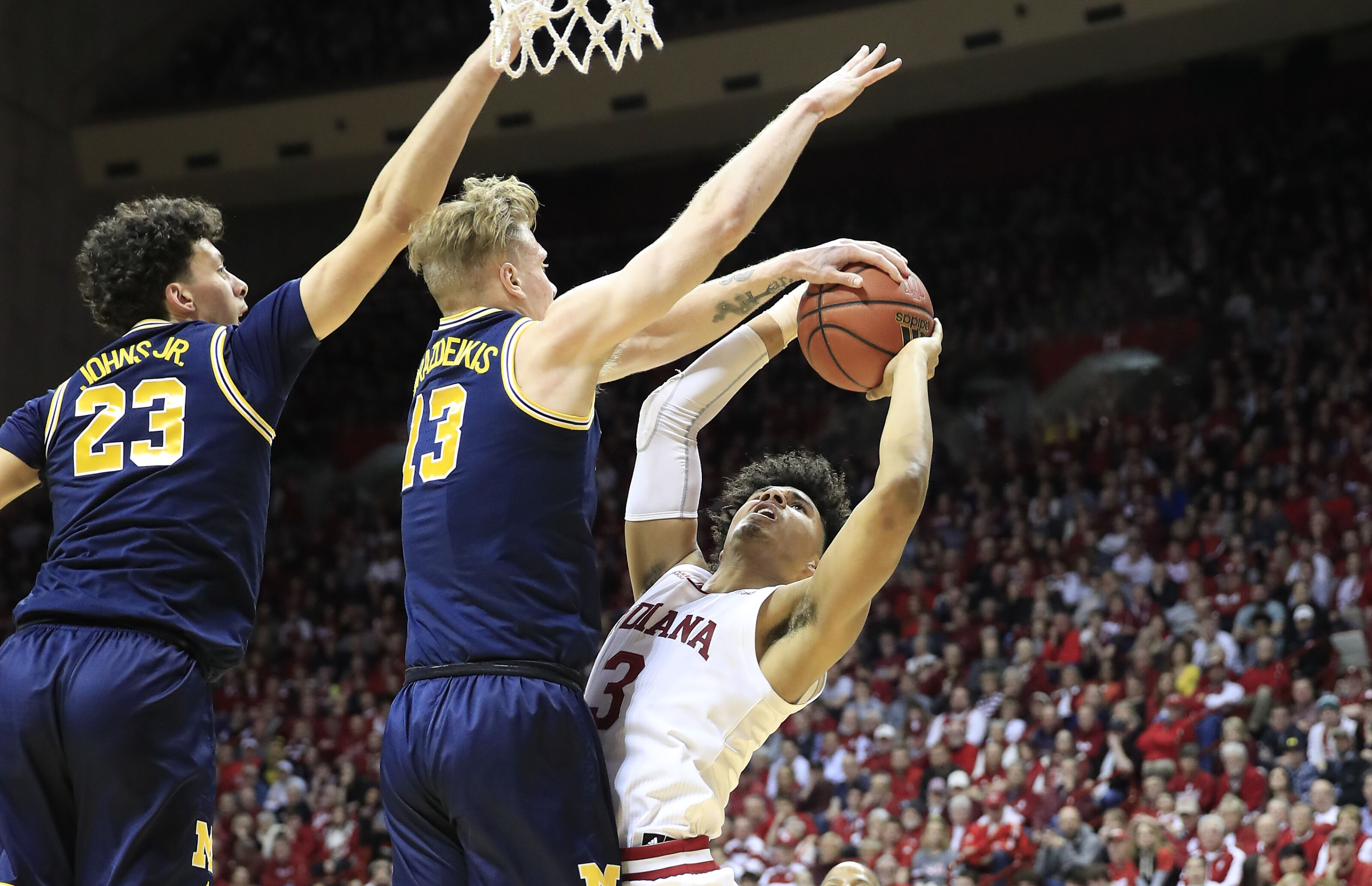 848213a25c90e Indiana Basketball  Two more Hoosiers declaring for the NBA Draft