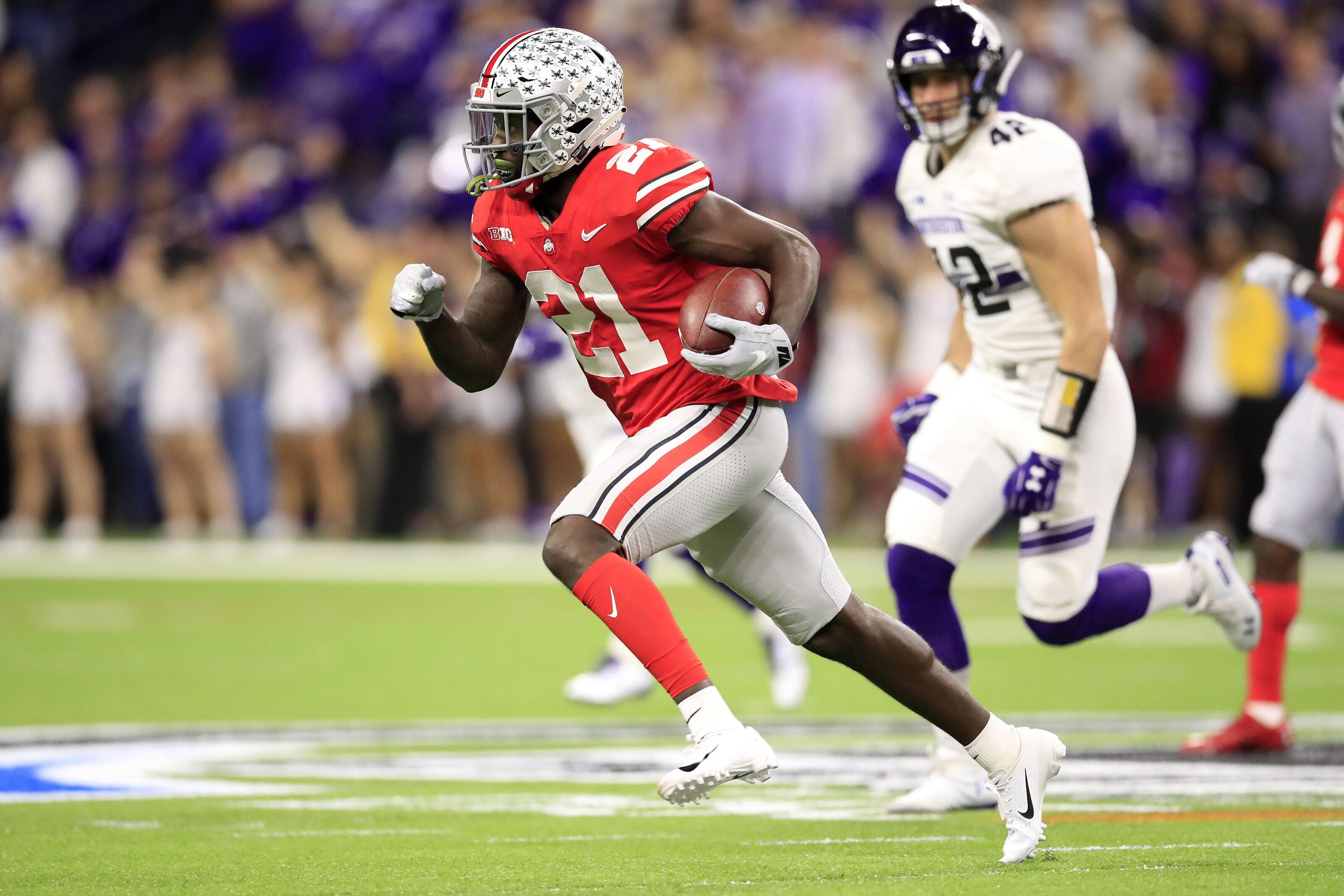 Colts take Parris Campbell with 59th pick