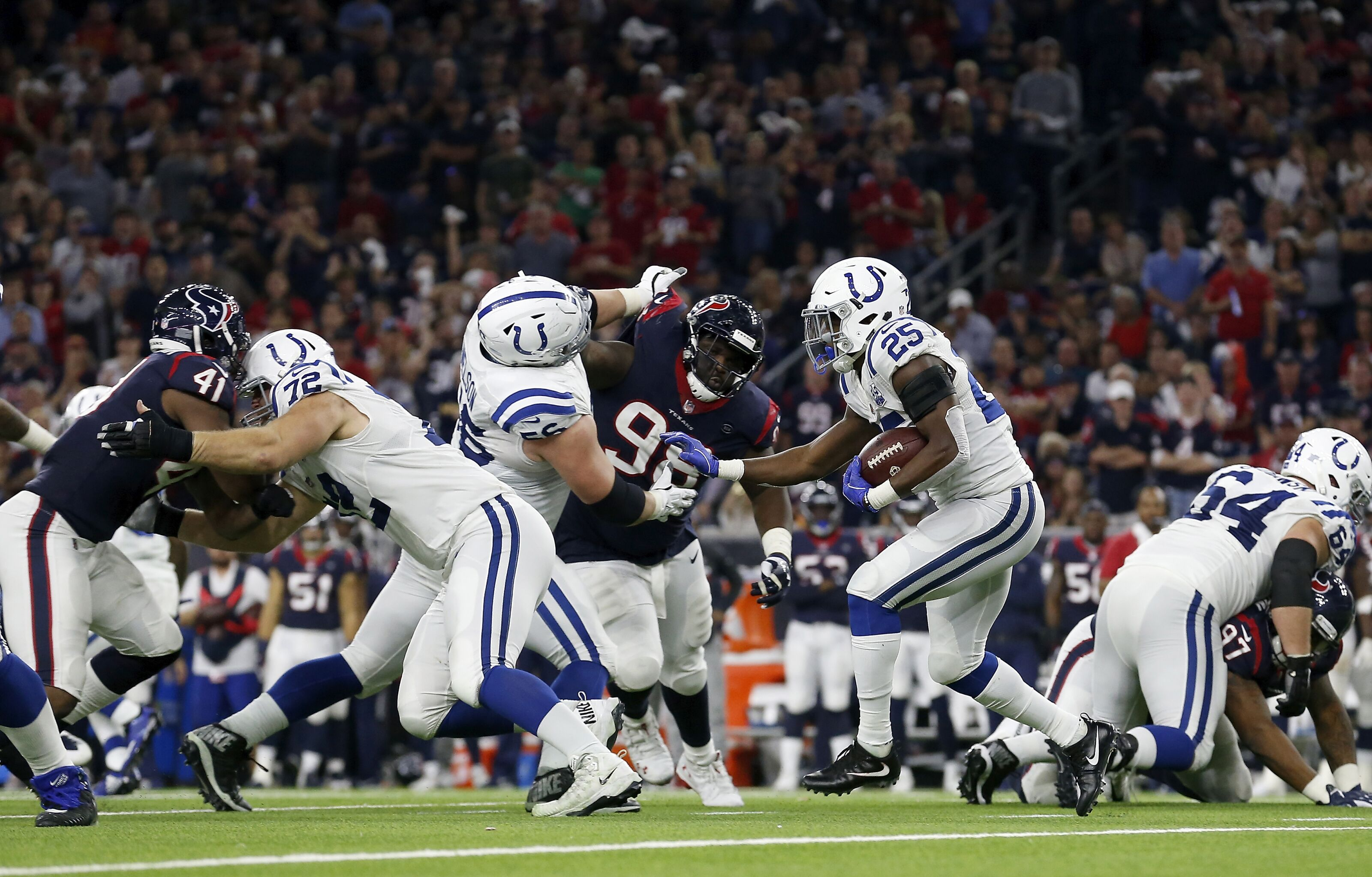 Colts rushing attack is the key to beating Texans Sunday