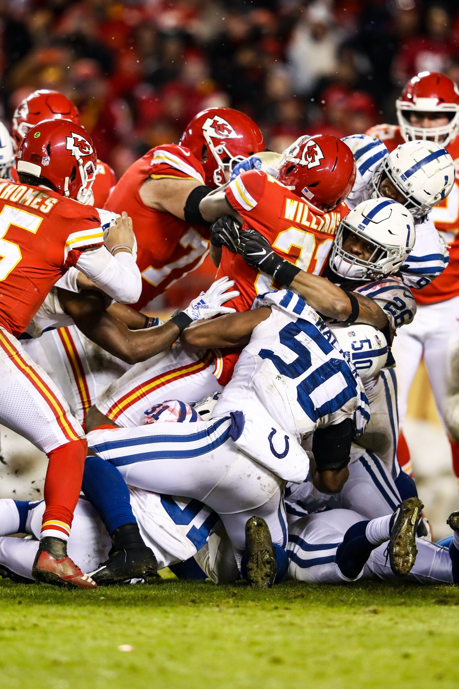 Who is the odd man out on Colts' defense?