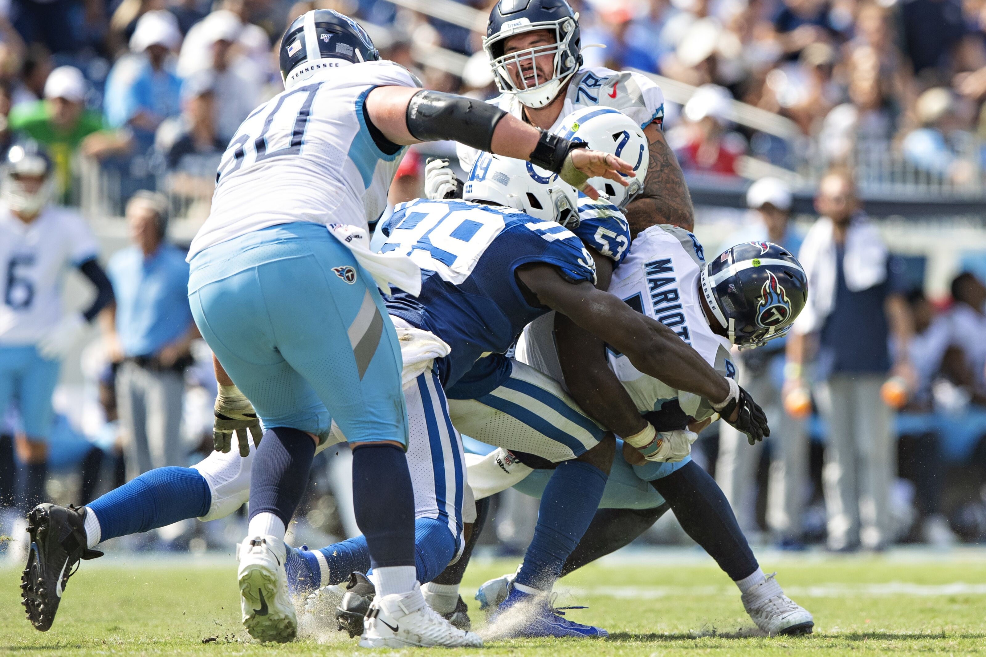 Colts pass rush off to a good start