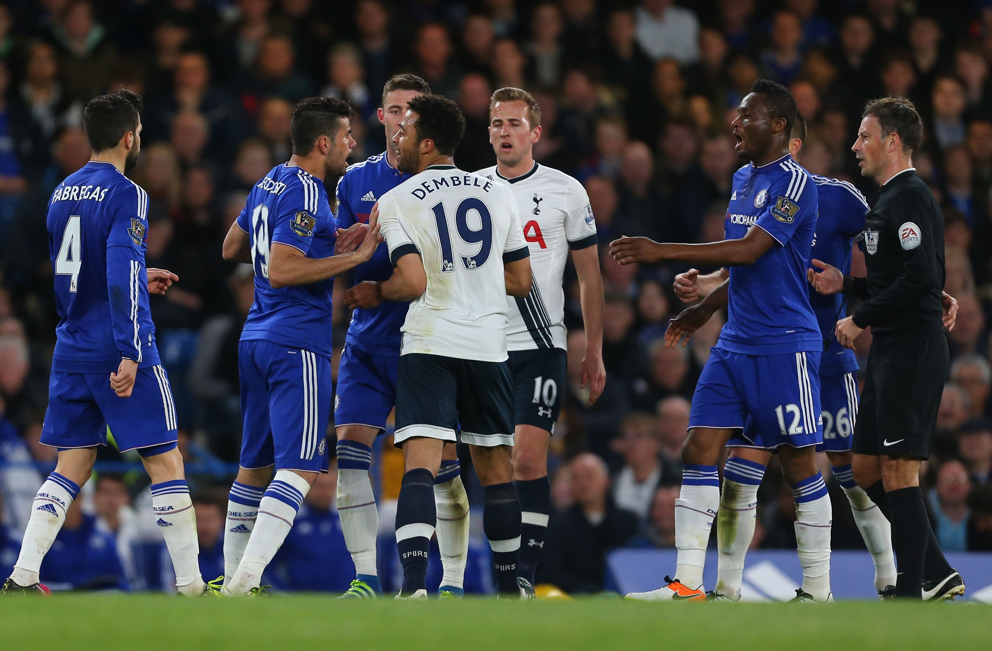 Tottenham Vs Chelsea: Tottenham's Mousa Dembélé Banned For Six Games