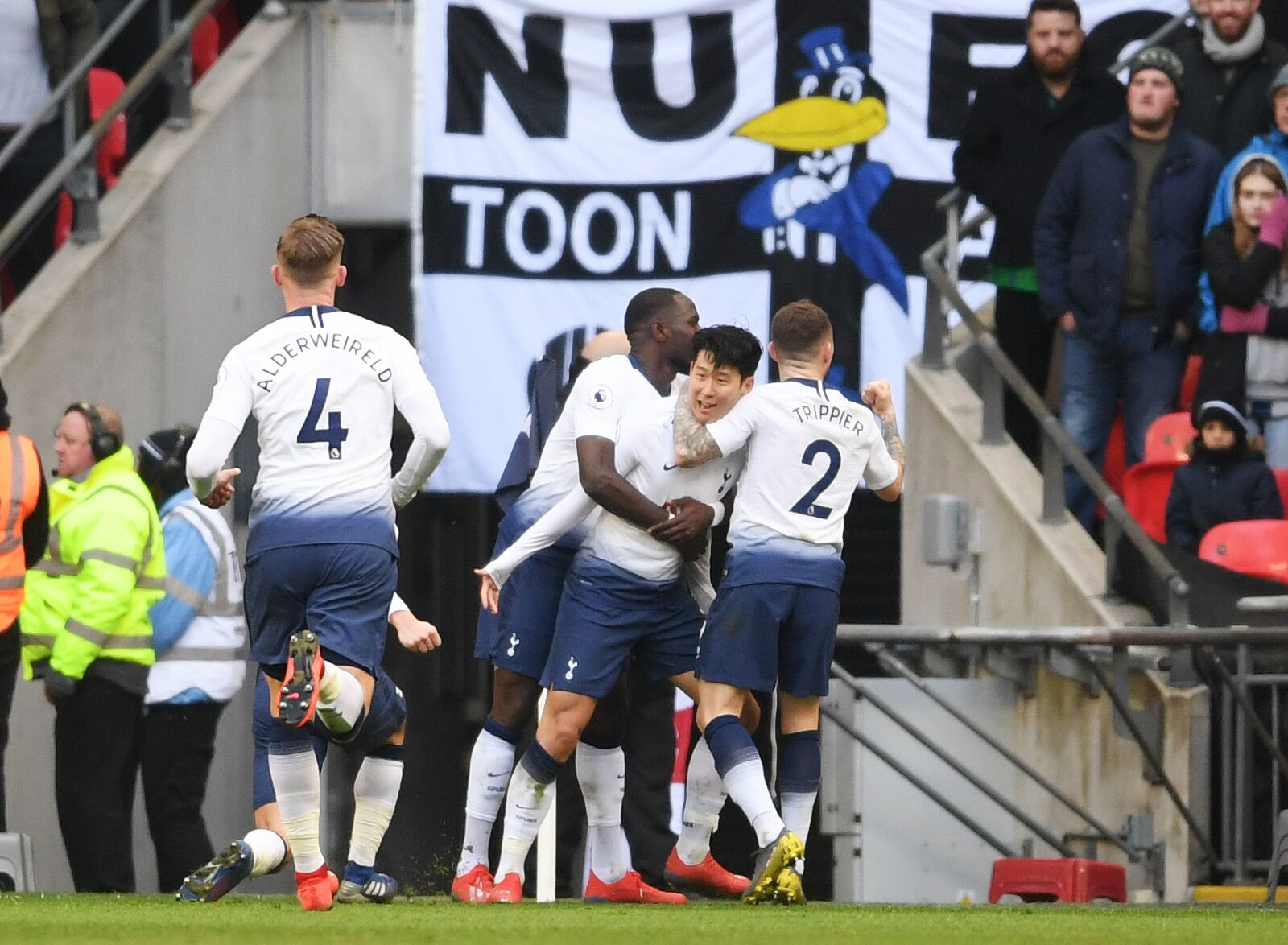 Player Ratings for Tottenham Hotspur Victory over Newcastle