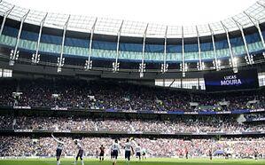 Rotated Tottenham, Moura top Huddersfield in BPL