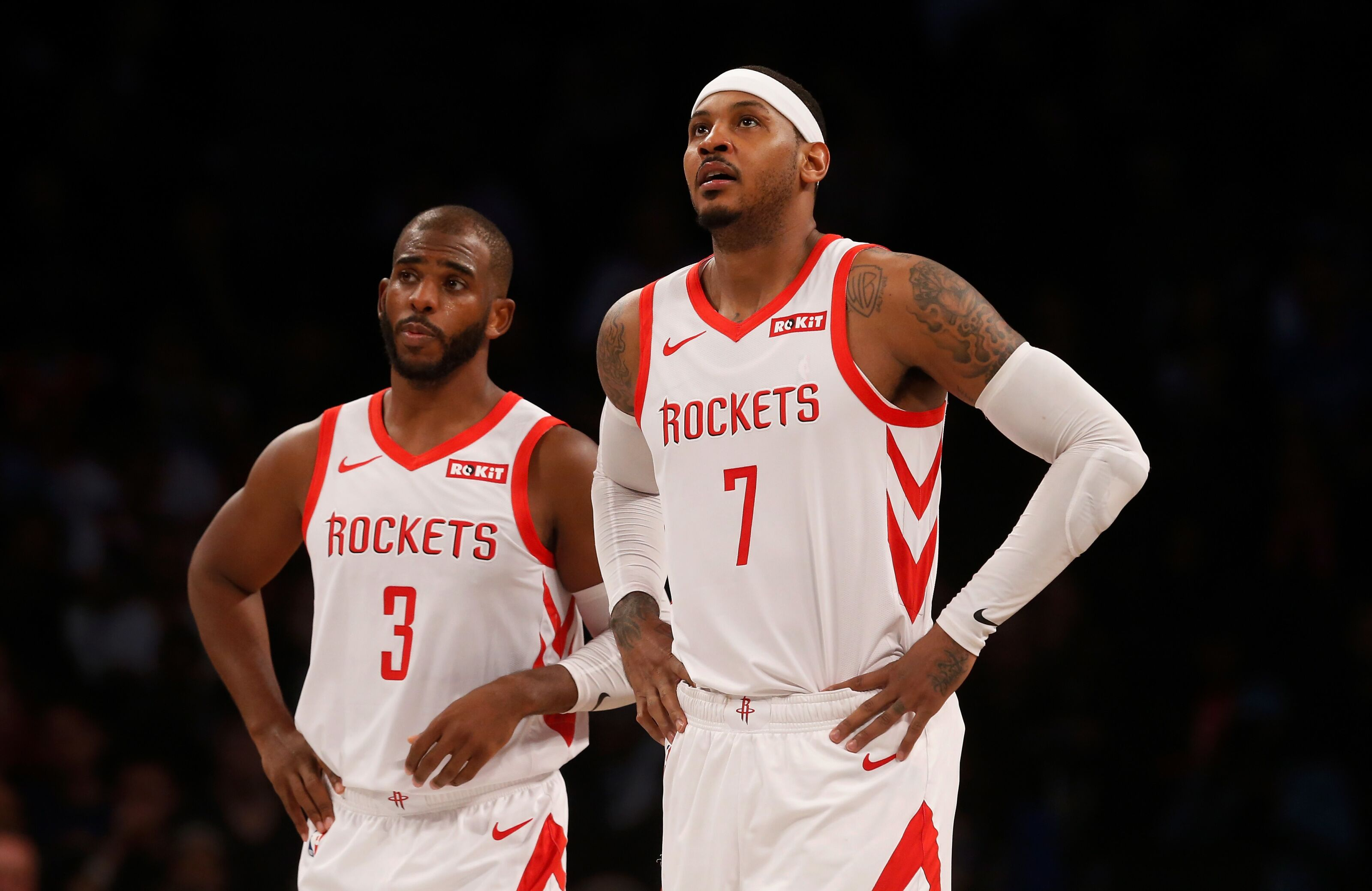 fd06badaf5b Houston Rockets Rumors  Carmelo Anthony could be traded by next week