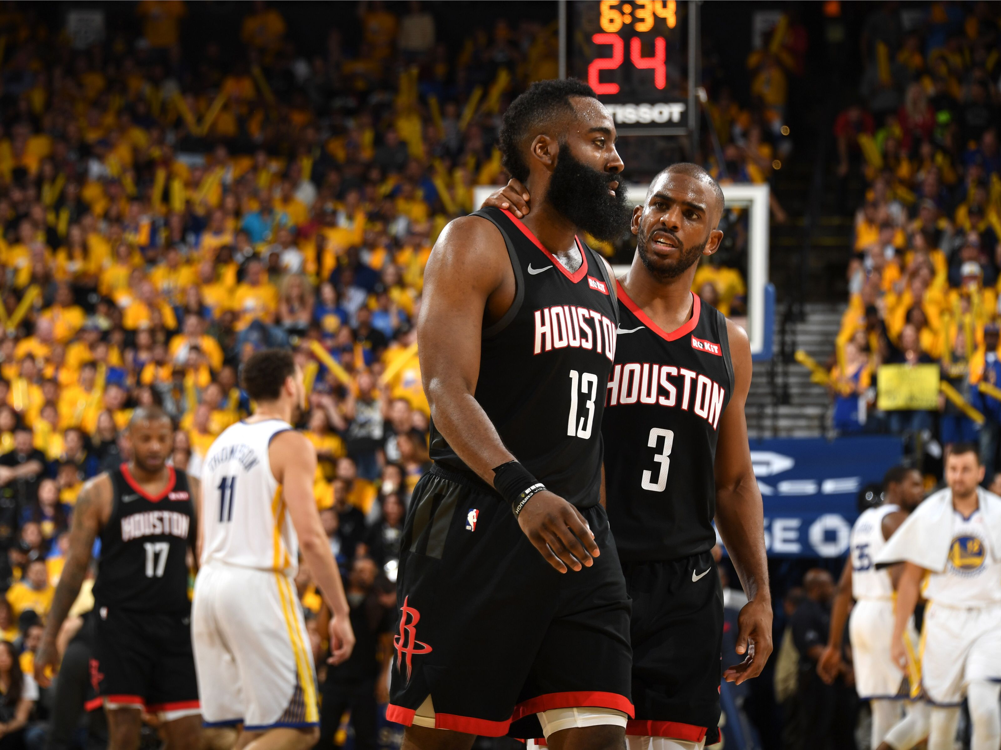 1173bf81a3c Houston Rockets: Harden and Paul conflict should invoke changes