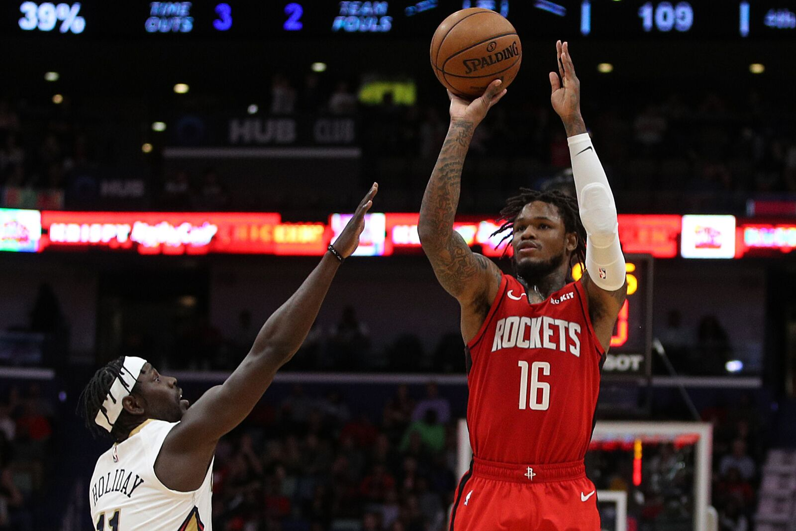Houston Rockets: Ben McLemore continues to be a key crutch for the team
