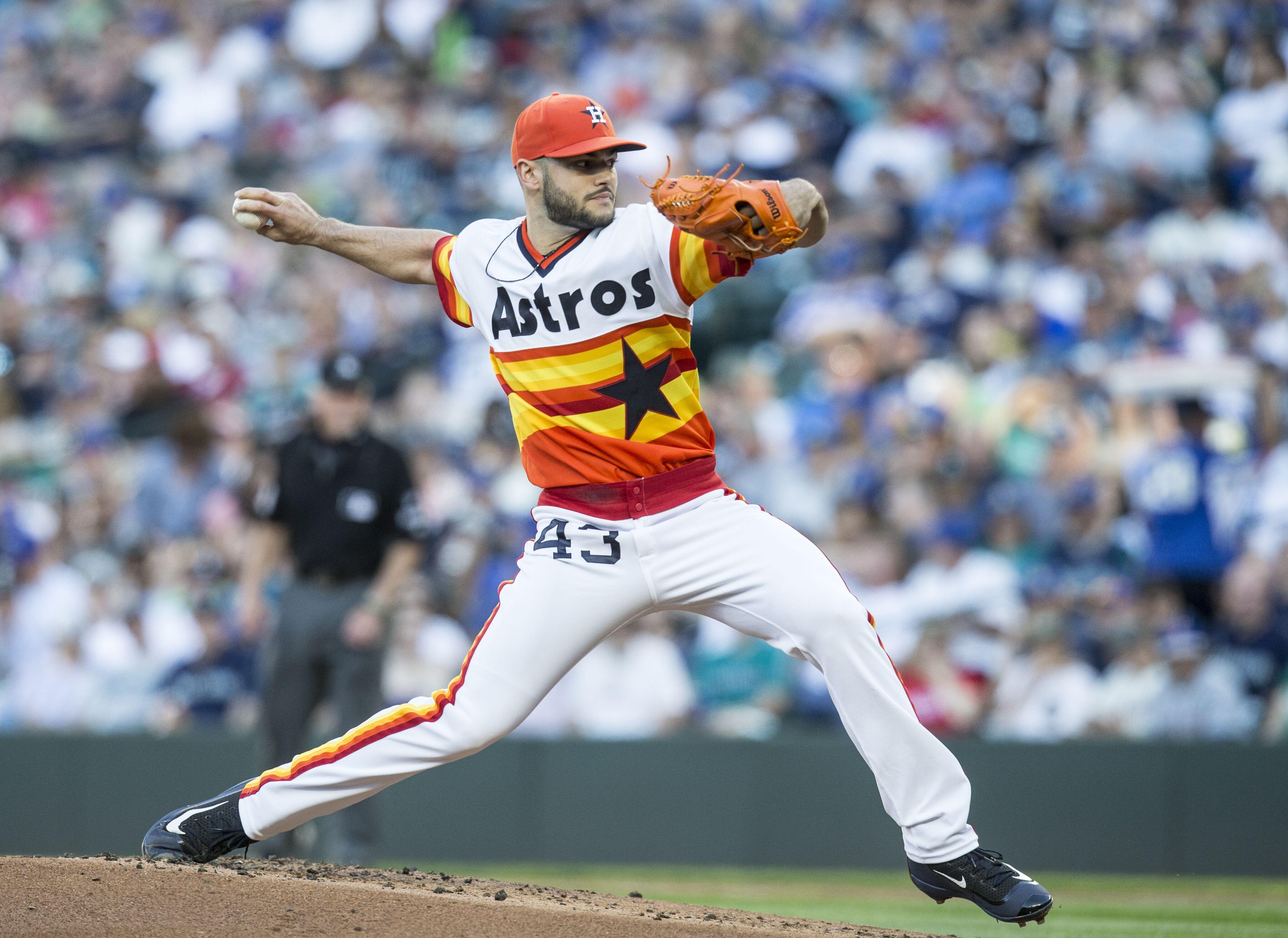 sports shoes e2c3a e32c1 Houston Astros Report: The evolution of the rainbow uniform ...