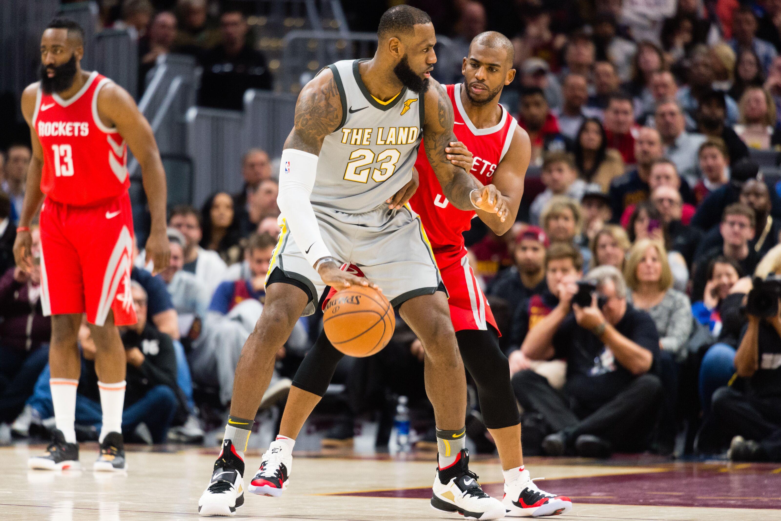 b9d7ecc521b Houston Rockets  The latest on Chris Paul recruiting LeBron James