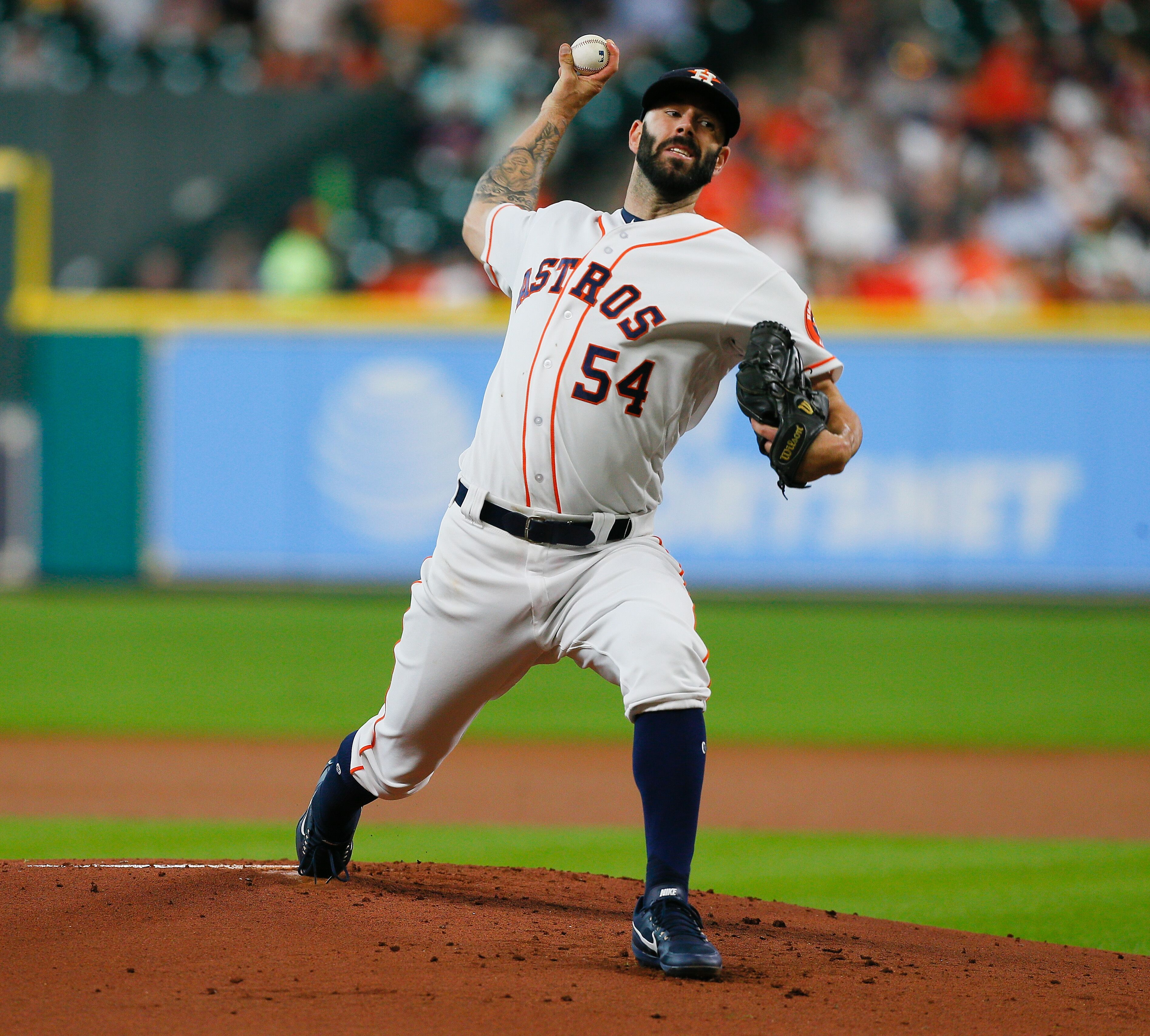 Houston Astros: Mike Fiers, Roster Expansion Helps Ease