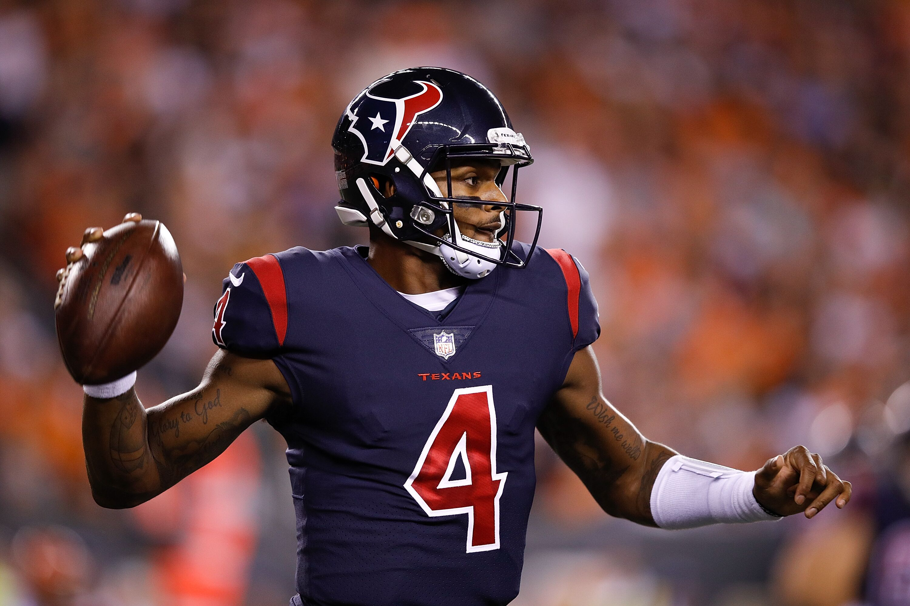 the latest e3194 a6fd3 Houston Texans: A potential 2018 quarterback depth chart to ...
