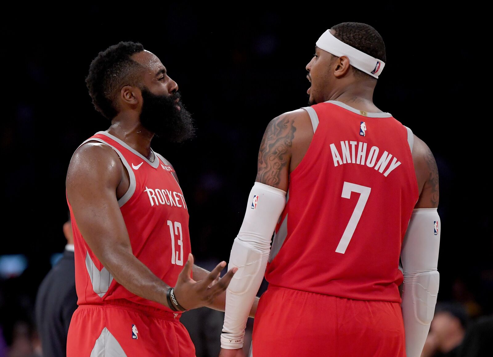 buy online f782f 946b9 Houston Rockets: Melo not the only problem, removing him is ...
