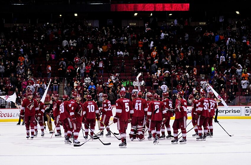 pretty nice 2d1a5 67f60 Arizona Coyotes: An Opening Night Primer For The Casual Fan