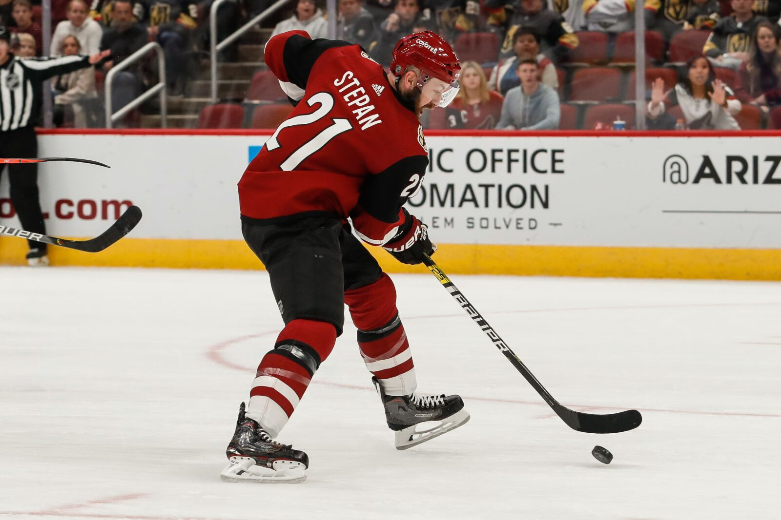 Arizona Coyotes Journey to the desert : Derek Stepan