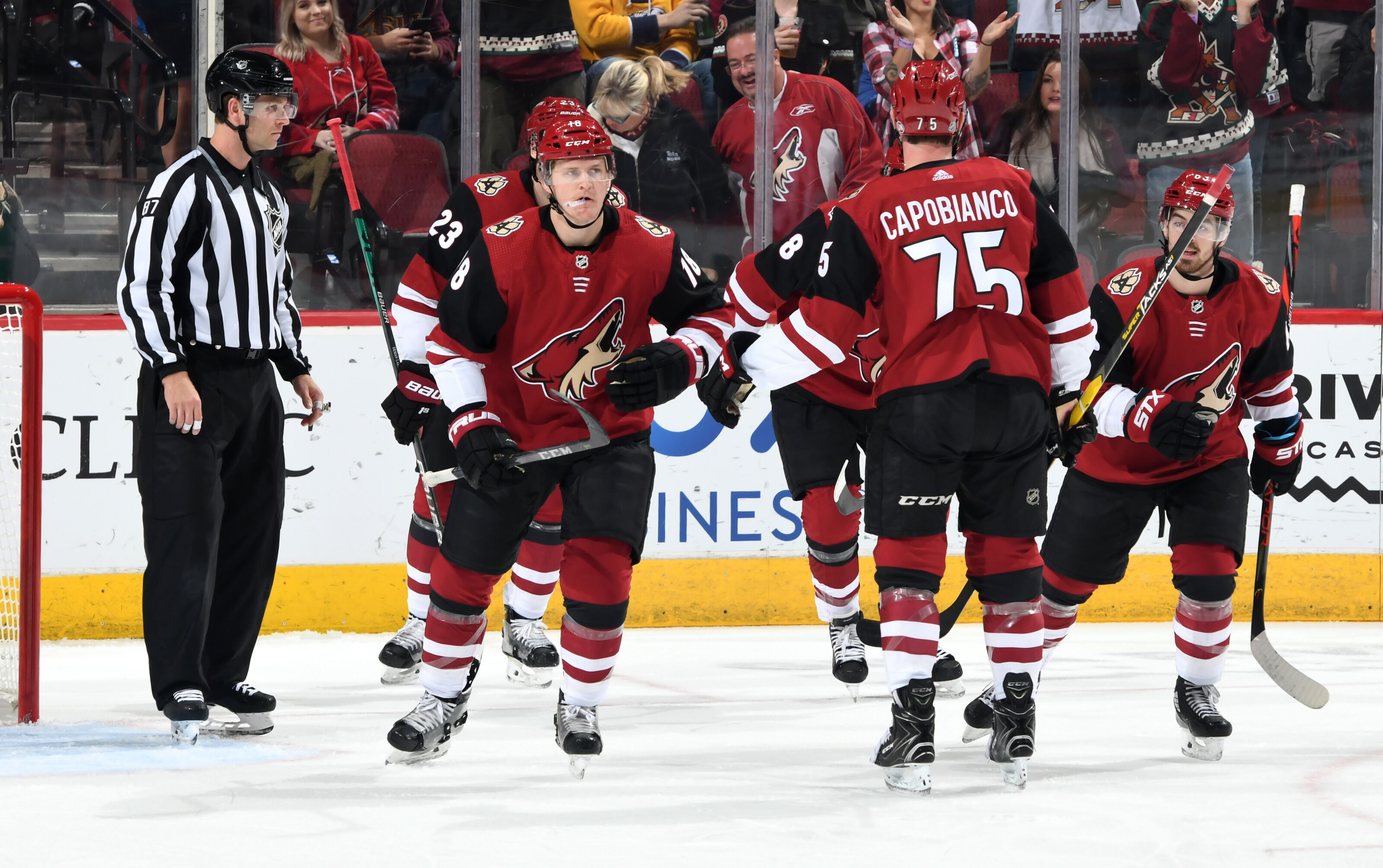Arizona Coyotes blow past Predators by a score of 5-2
