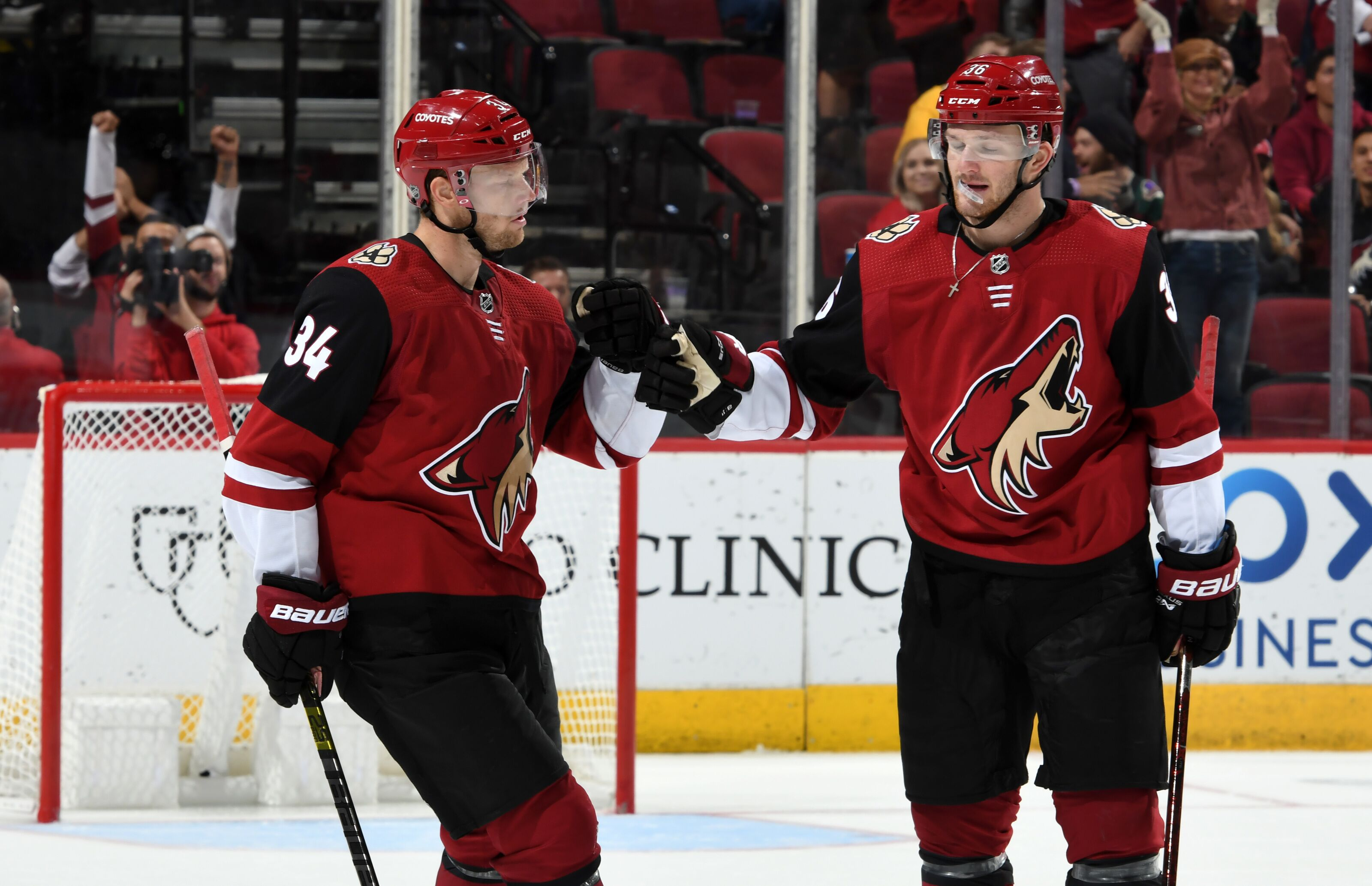 Super Hockey Ad Aria.Top Arizona Coyotes Players Playing For A Contract This Season