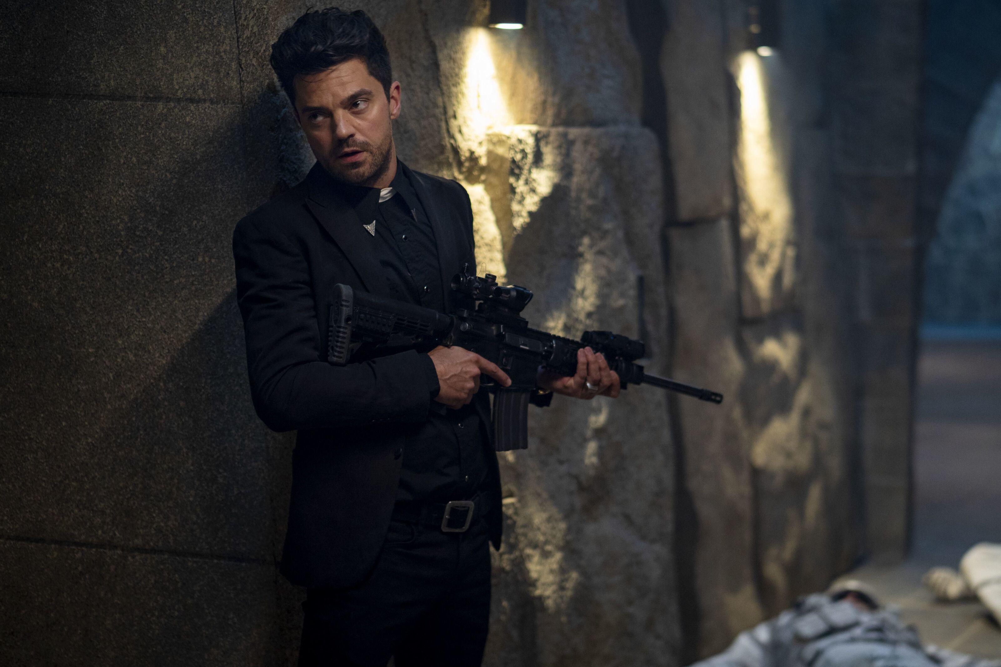 When will AMC's Preacher Season 4 begin streaming on Hulu?