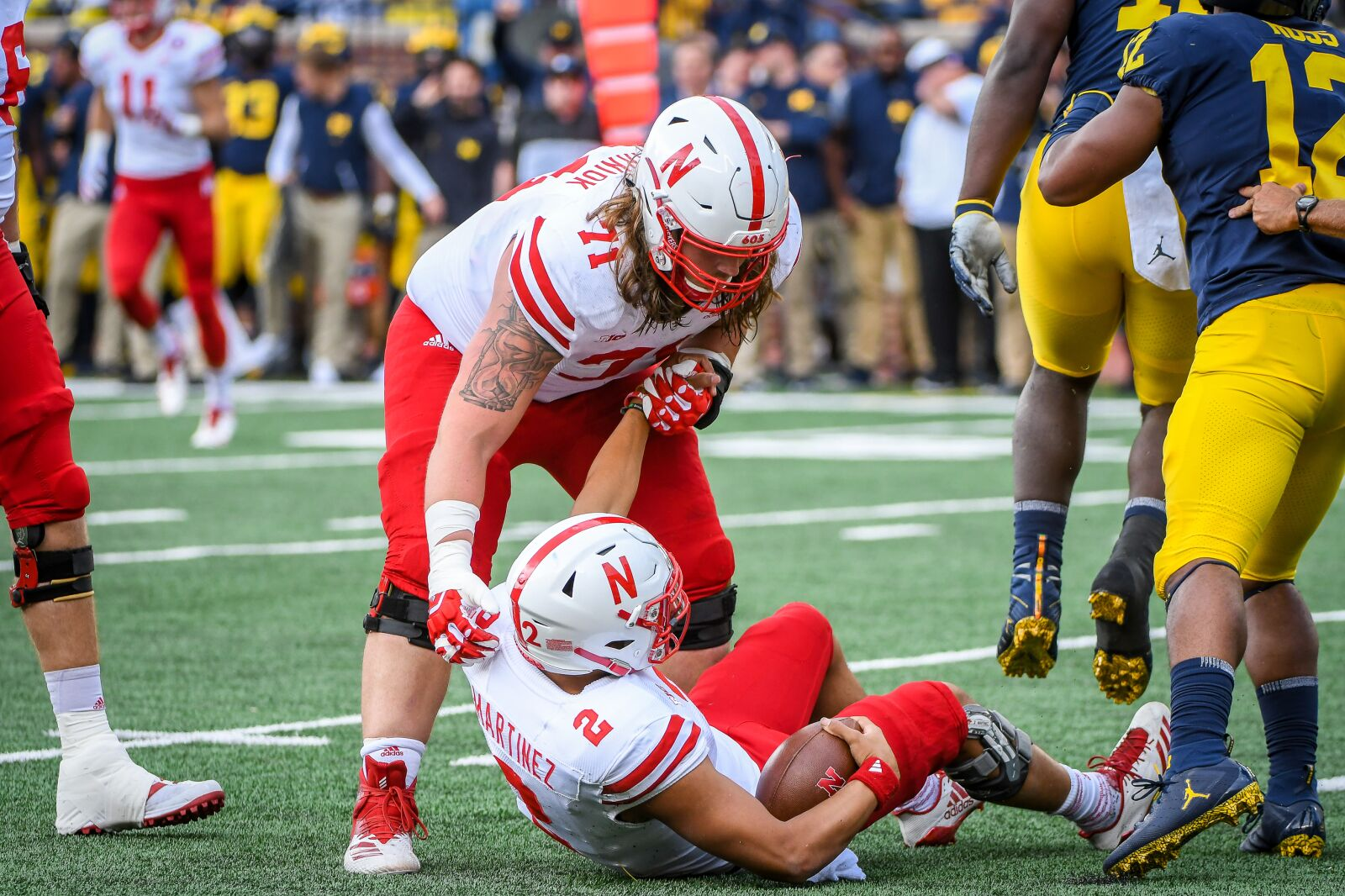 Nebraska Football: Finishing the job is important for the offensive line