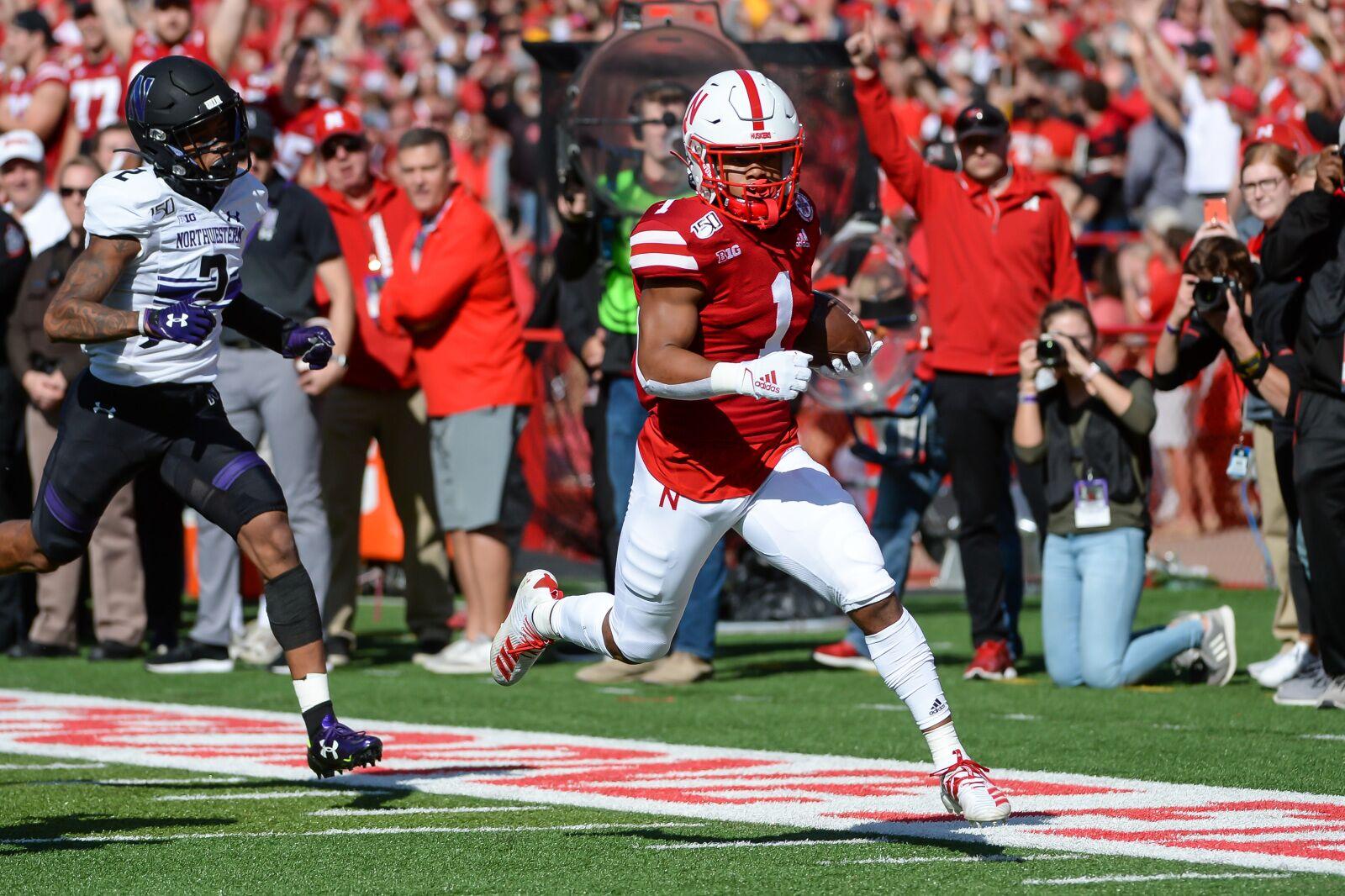 Nebraska Football: Wan'Dale Robinson honored for big game ...