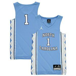 c66b733b863fd6  1 North Carolina Tar Heels Nike Youth New Silhouette Basketball Jersey -  Light Blue