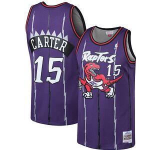 e4280674b18 Vince Carter Toronto Raptors Mitchell   Ness 1998-99 Hardwood Classics Swingman  Jersey - Purple