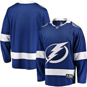 Tampa Bay Lightning Fanatics Branded Breakaway Home Jersey - Blue