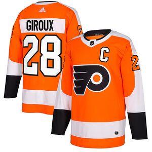 online store ee592 7ba9b Claude Giroux Philadelphia Flyers adidas Authentic Player Jersey – Orange