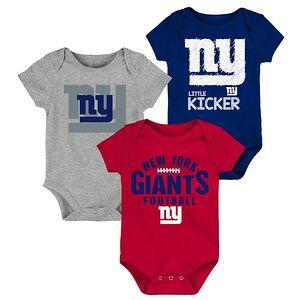 6c4cc5a2247 New York Giants Newborn & Infant For the Win Three-Piece Bodysuit Set -  Royal