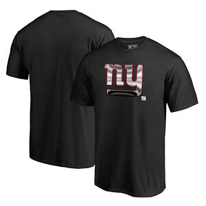 61a993ecbb6 New York Giants NFL Pro Line by Fanatics Branded Midnight Mascot T-Shirt -  Black