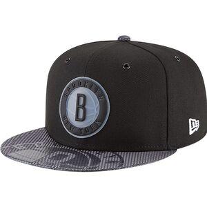 35f03a59b Brooklyn Nets New Era Team Color On-Court 9FIFTY Snapback Adjustable Hat -  Black