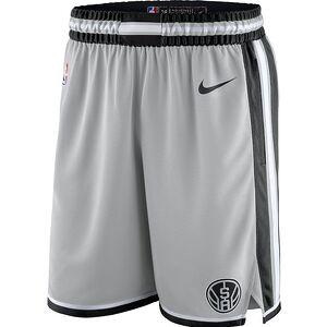1700aee78c6 San Antonio Spurs Nike 2018/19 Statement Edition Swingman Shorts - Silver