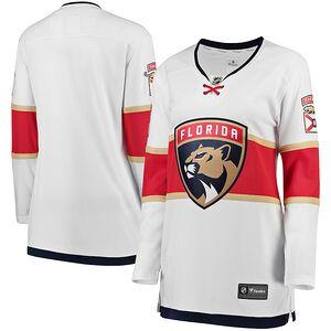 6bc268dd4 Florida Panthers Fanatics Branded Women s Away Breakaway Jersey – White