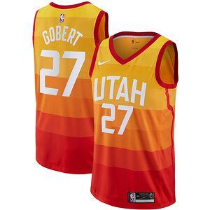 7a3cbfa5d Rudy Gobert Utah Jazz Nike 2018 19 Swingman Jersey – City Edition – Orange