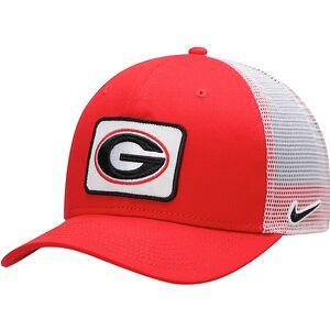 Georgia Bulldogs Nike Classic 99 Trucker Adjustable Snapback Hat - Red 02dcf86db1fb