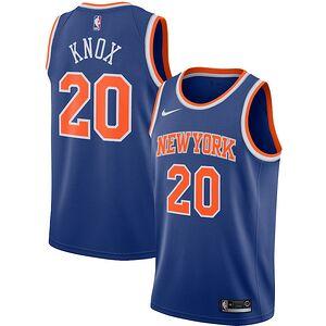 13c35d01d21b Kevin Knox New York Knicks Nike Swingman Jersey - Blue
