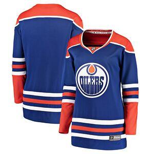Edmonton Oilers Fanatics Branded Women s Alternate Breakaway Jersey – Royal e73ca106c