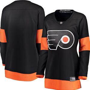 cd30078875d Philadelphia Flyers Fanatics Branded Women's Alternate Breakaway Jersey –  Black