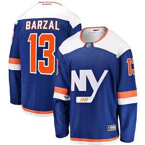 50650e84 Mathew Barzal New York Islanders Fanatics Branded Youth Alternate Breakaway  Jersey – Blue