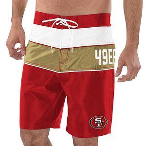 ef8f77dfb San Francisco 49ers G-III Sports by Carl Banks All Star Swim Trunks –  Scarlet