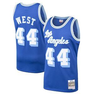 63e99fd0c Jerry West Los Angeles Lakers Mitchell   Ness 1960-61 Hardwood Classics  Swingman Jersey –