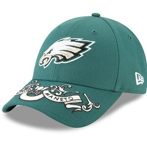 98772149c96 Philadelphia Eagles New Era 2019 NFL Draft On-Stage Official 9FORTY  Adjustable Hat – Green