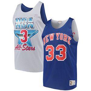 1b8c7c9eb35a Patrick Ewing New York Knicks Mitchell   Ness All-Star Game Reversible Mesh  Tank Top