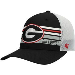 67d52382eb9 Georgia Bulldogs  47 Altitude Trucker Adjustable Snapback Hat – Black